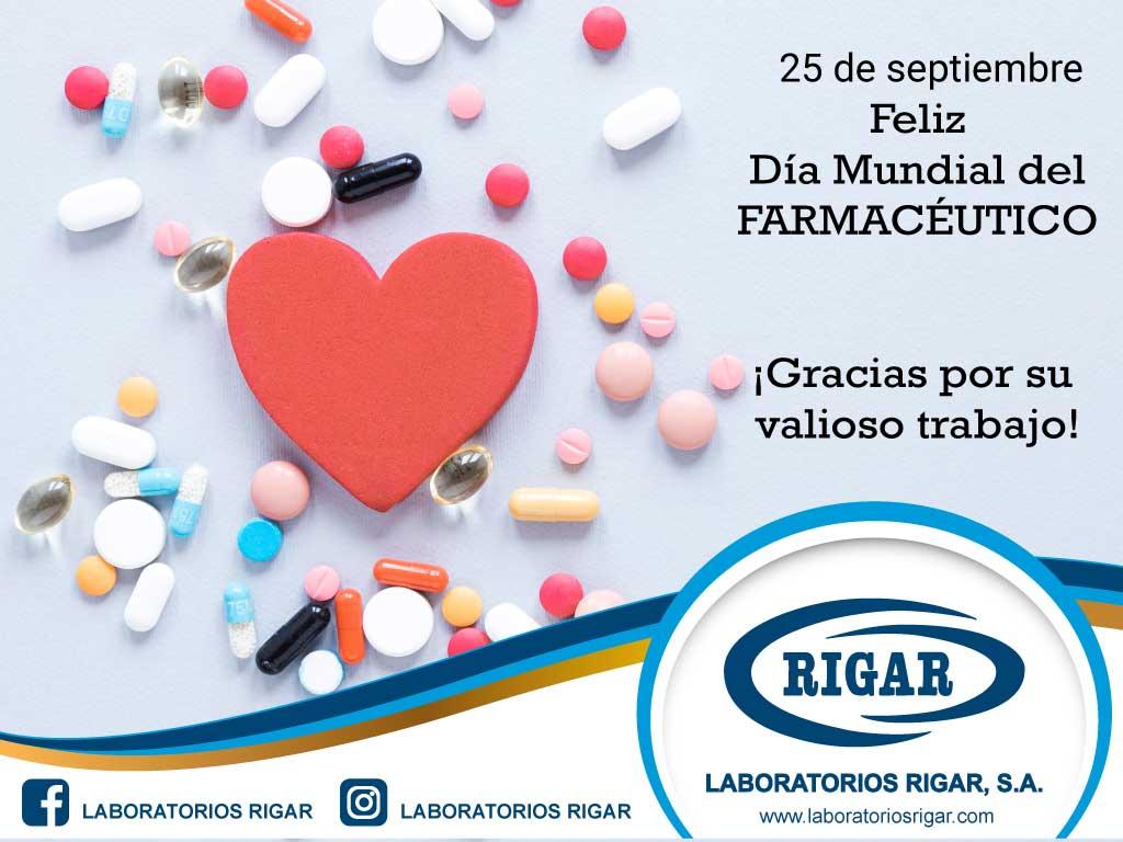Feliz día del Farmacéutico