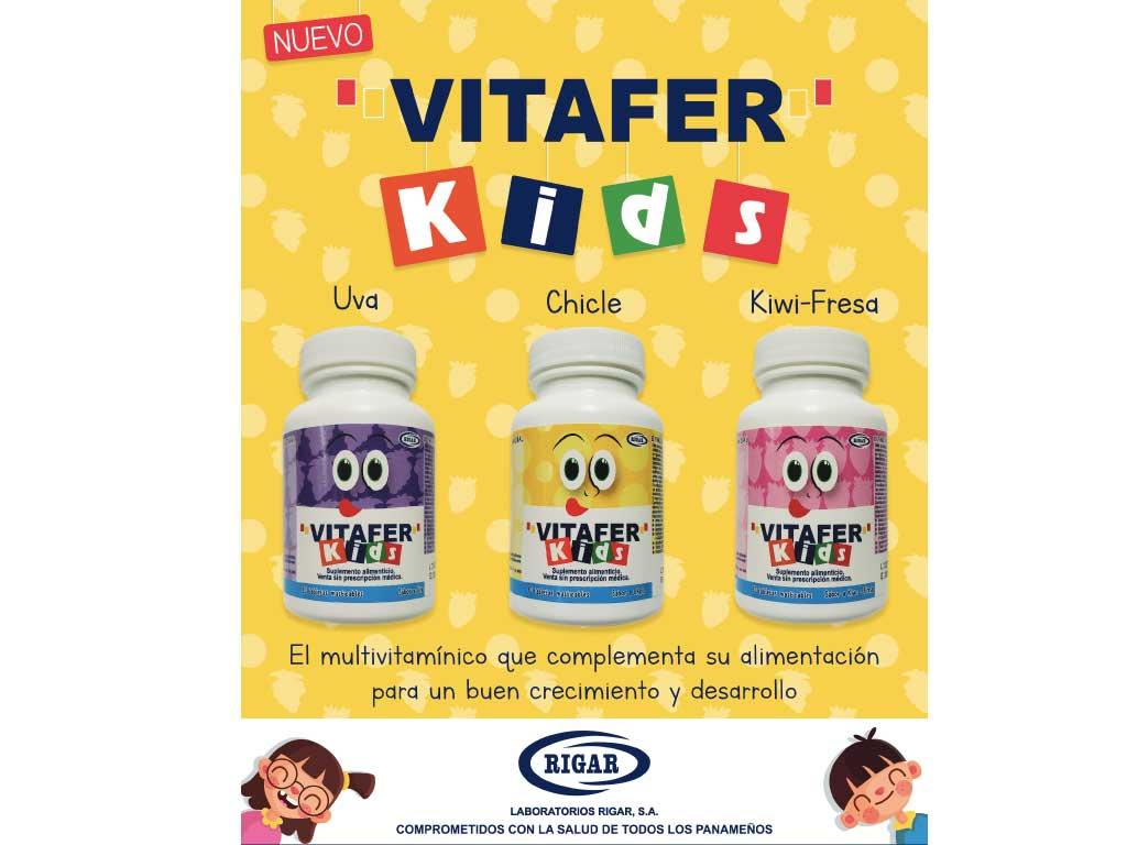 Vitafer Kids Tabletas. NUEVO.